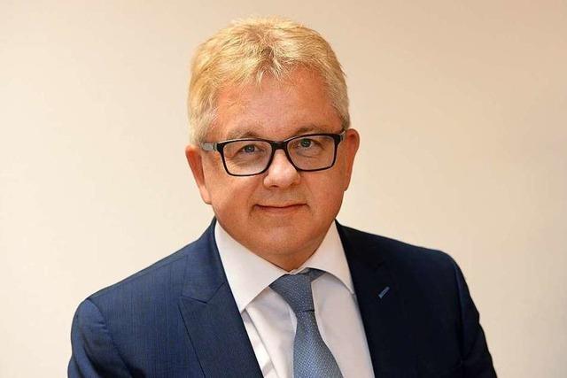 Minister Guido Wolf kommt nach Bad Säckingen