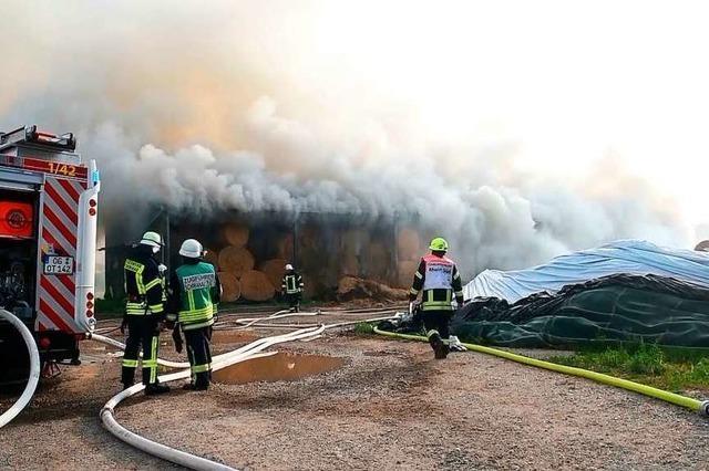 Vom Feuer gezeichnete Landwirte erleben große Solidarität