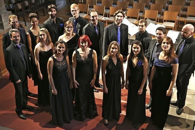 Das Vokalensemble Exosphère führt Requiem von Gabriel Fauré auf