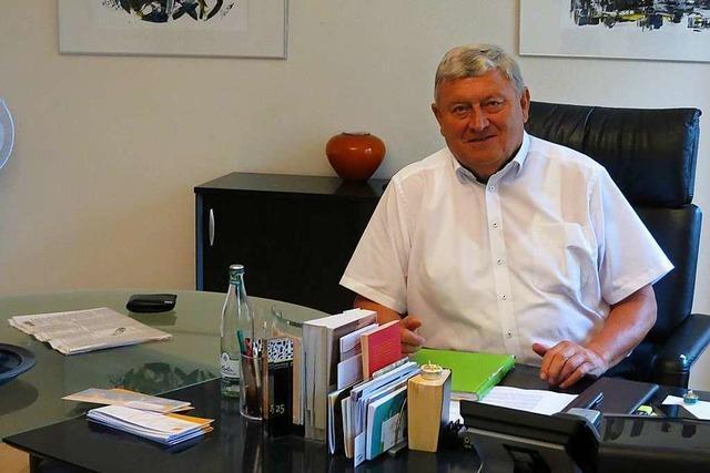 Schliengens Bürgermeister Bundschuh hört 2020 auf – nach mehr als 30 Jahren im Amt