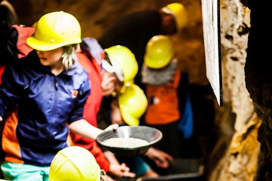 Am Wochenende ist wieder Bergwerksfest in Münstertal  | Foto: Besuchsbergwerk