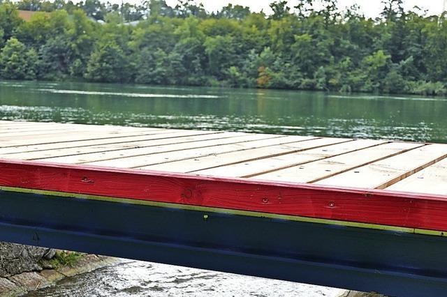Neue Stege am Hertener Loch