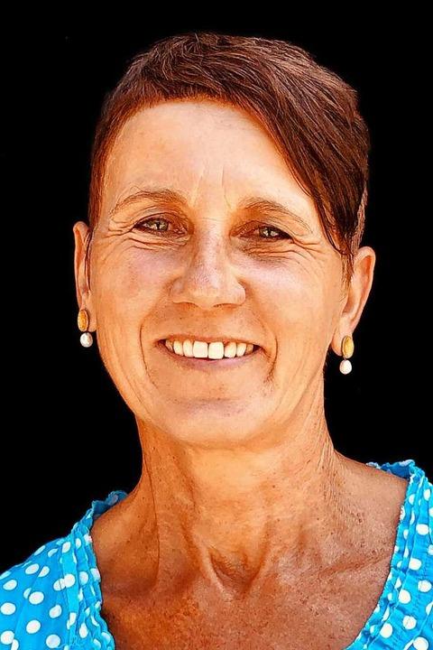 Die Gärtnerin, Markt- und Kräuterfrau Roswitha Ette  | Foto: Michael Wissing