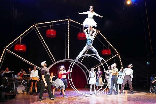 Der Circus Monti hat seine Tournee in Basel gestartet