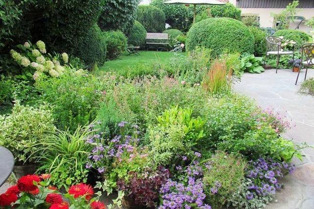 Der Garten von Ute Briegel in Kandern ist ein kleines Paradies