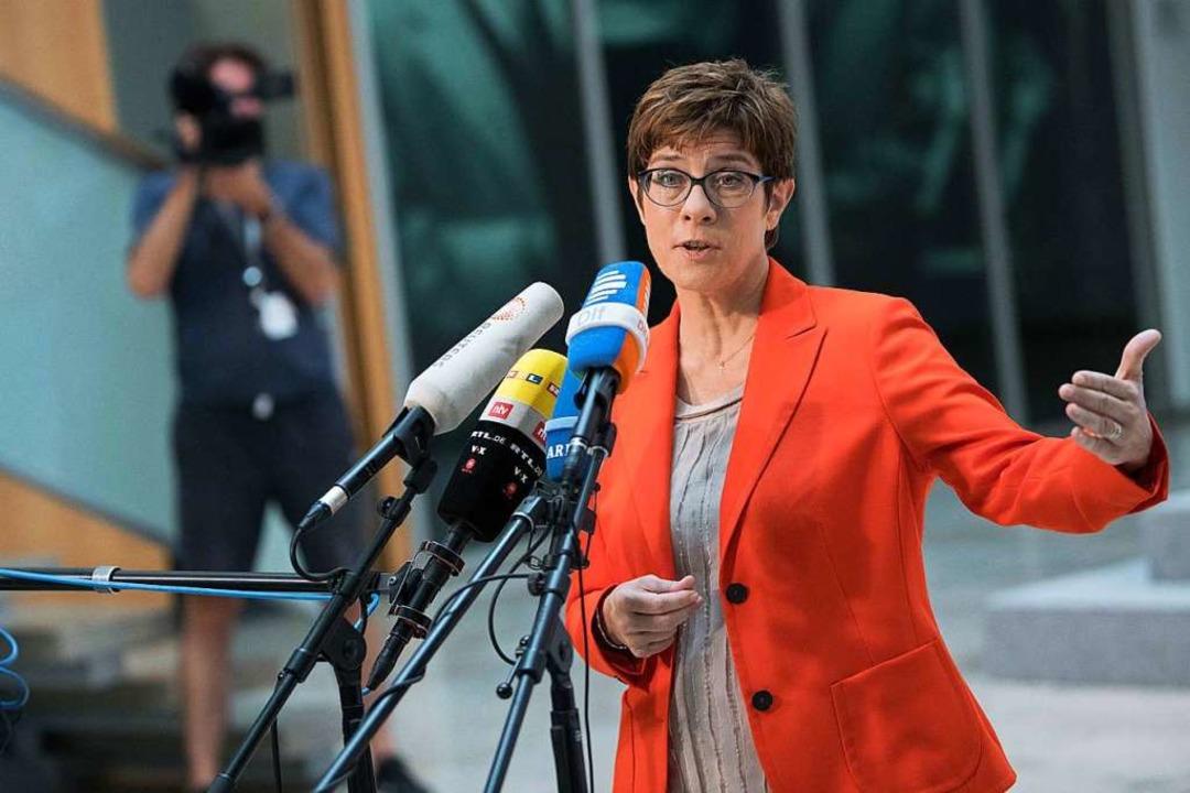 Kaum einer polarisiert innerhalb der C...t mit einem Parteiausschlussverfahren.  | Foto: Jörg Carstensen (dpa)