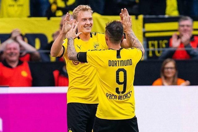 Borussia Dortmund fegt Augsburg mit 5:1 vom Platz