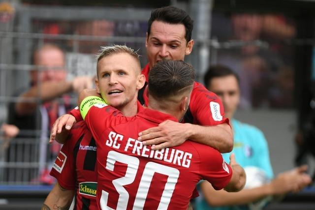 Drei Tore in fünf Minuten führen zum ersten Freiburger Auftaktsieg seit 18 Jahren