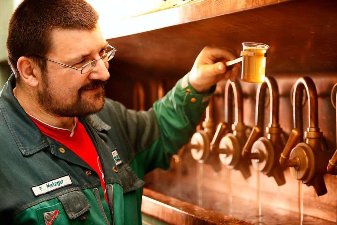 Die Brauer probieren auch neue Biersor...1; manche basieren auf alten Rezepten.  | Foto: Lasser