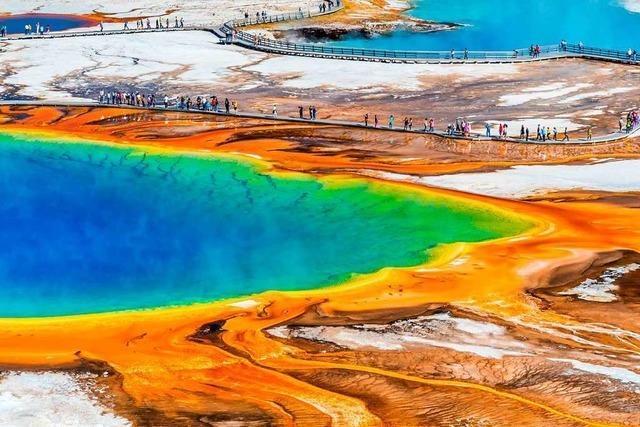 Faszination Yellowstone-Nationalpark: Von Bisons, Quellen und Regenbogenfarben