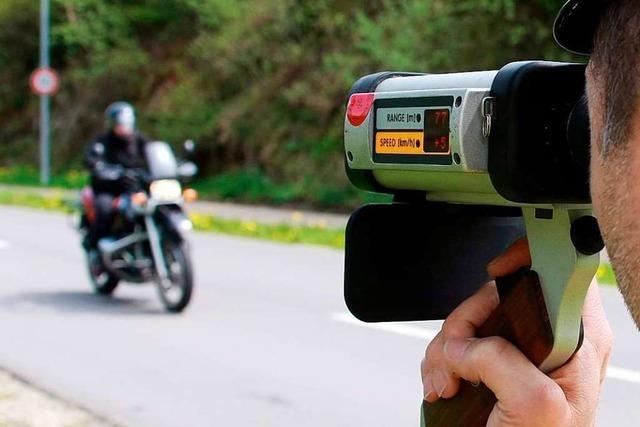 Schweizer Motorradfahrer:
