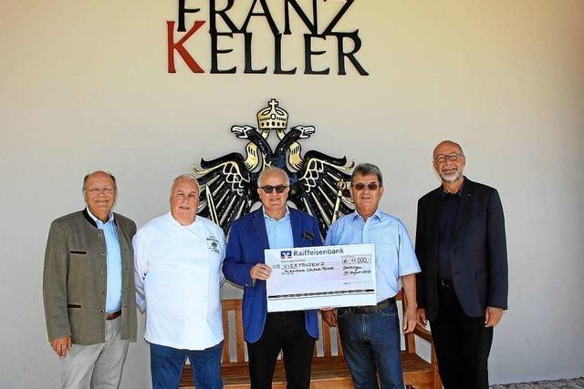 Benefizaktion von Fritz Keller und Anibal Strubinger für Colonia Tovar