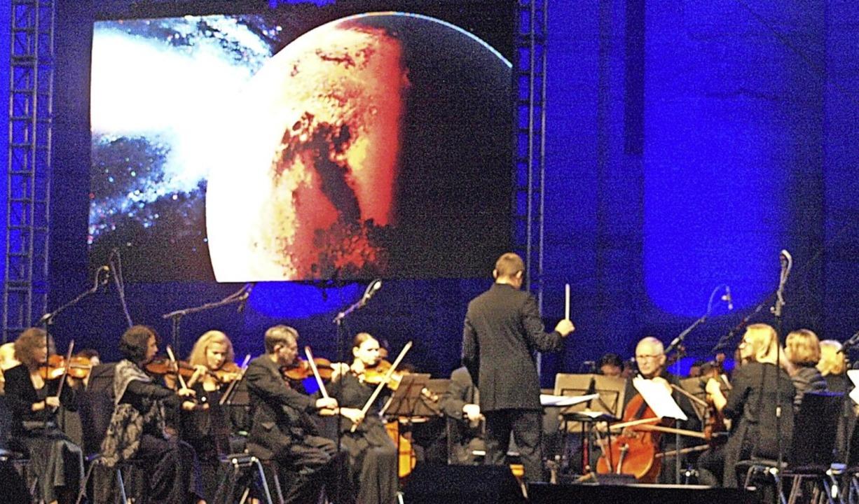 Eine fantastische Gesamtwirkung erziel...mponist Hans Zimmer am St. Blasier Dom    Foto: Karin Stöckl-Steinebrunner