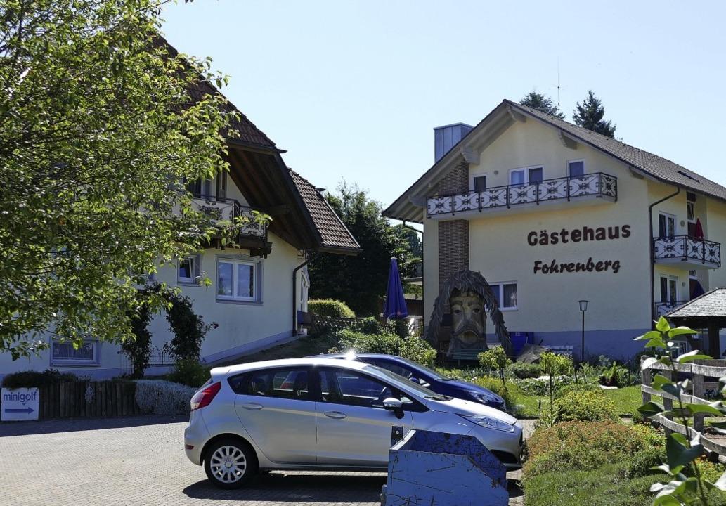 Auf dem Areal des Gästehauses Fohrenbe...ng wurde vom Gemeinderat befürwortet.   | Foto: juliane Kühnemund