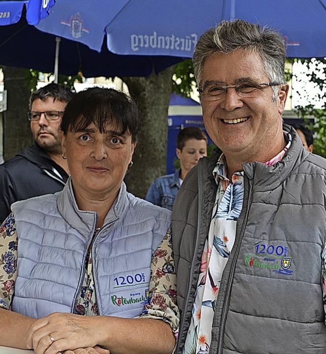 Ramona und  Clemens Hensler    Foto: Liane Schilling