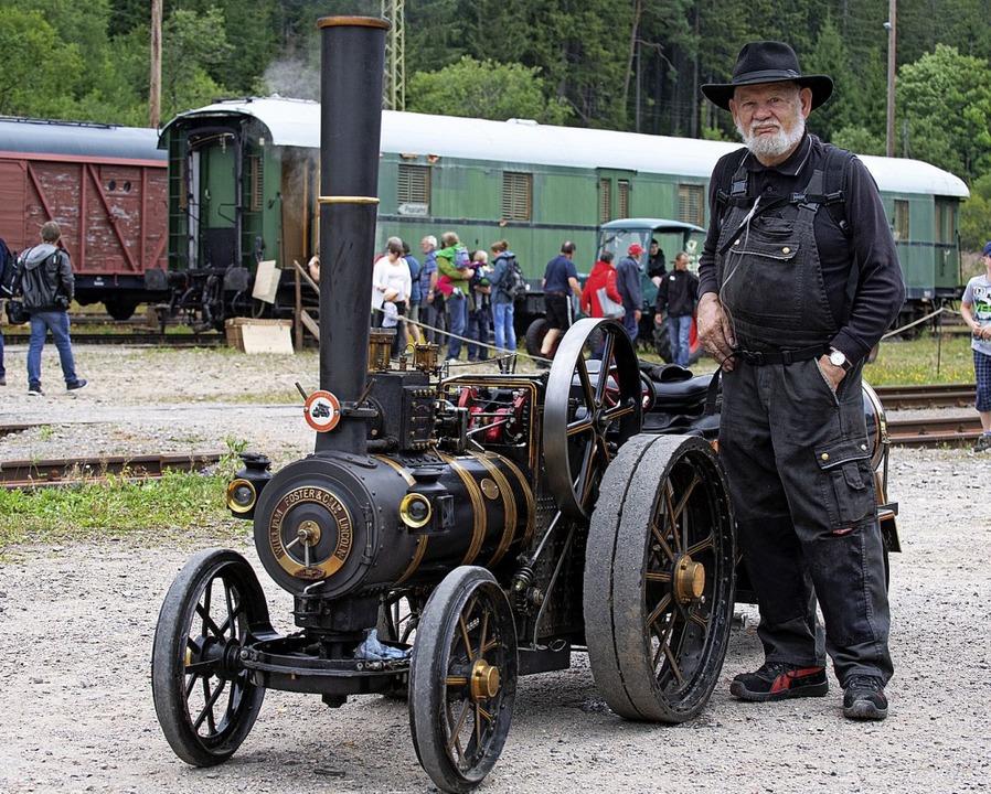 Ein dampfgetriebenes Fahrzeug  | Foto: Wolfgang Scheu