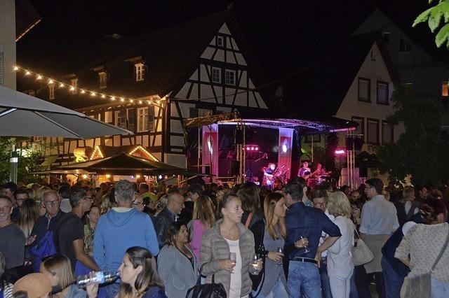 Letzter Tag beim Breisgauer Weinfest