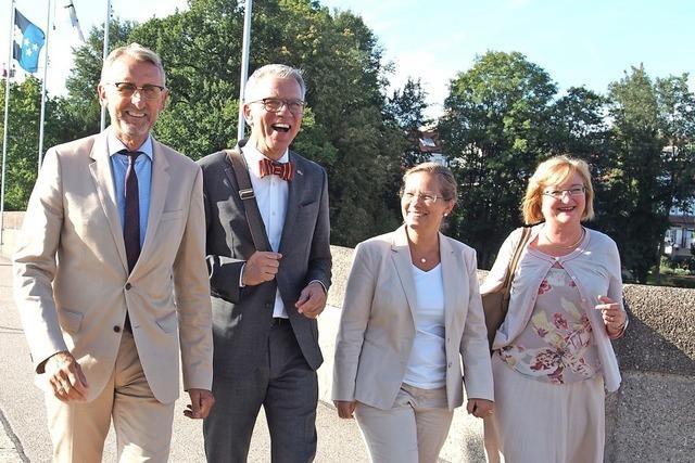 Schweizer Botschafter genießt Rheinfelden