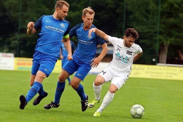 FC Neustadt ist beim Favoriten FC 08 Villingen II überfordert