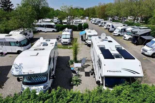 Großer Platz für Wohnmobile verschwindet - noch kein Ersatz