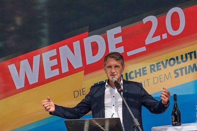 Wie die westdeutsche AfD-Spitze die friedliche Revolution von 1989 für sich vereinnahmen will