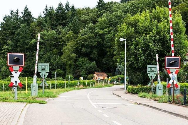 Der Umbau der 8 Bahnübergänge in Waldkirch wird viel teurer