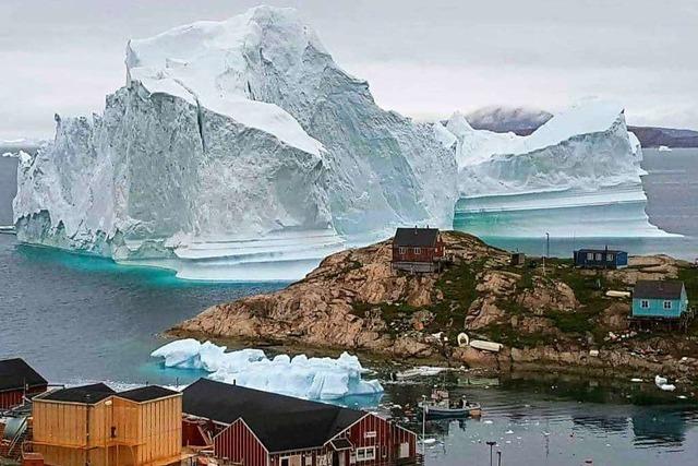 Eisberge sollen die Dürre lindern