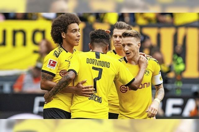Dortmund grüßt gleich von oben