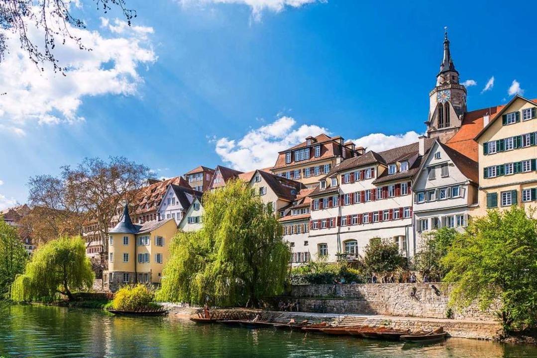 Ein Hauch von Italien in Schwaben: die Neckarfront  | Foto: Barbara Honner (Verkehrsverein Tübingen)