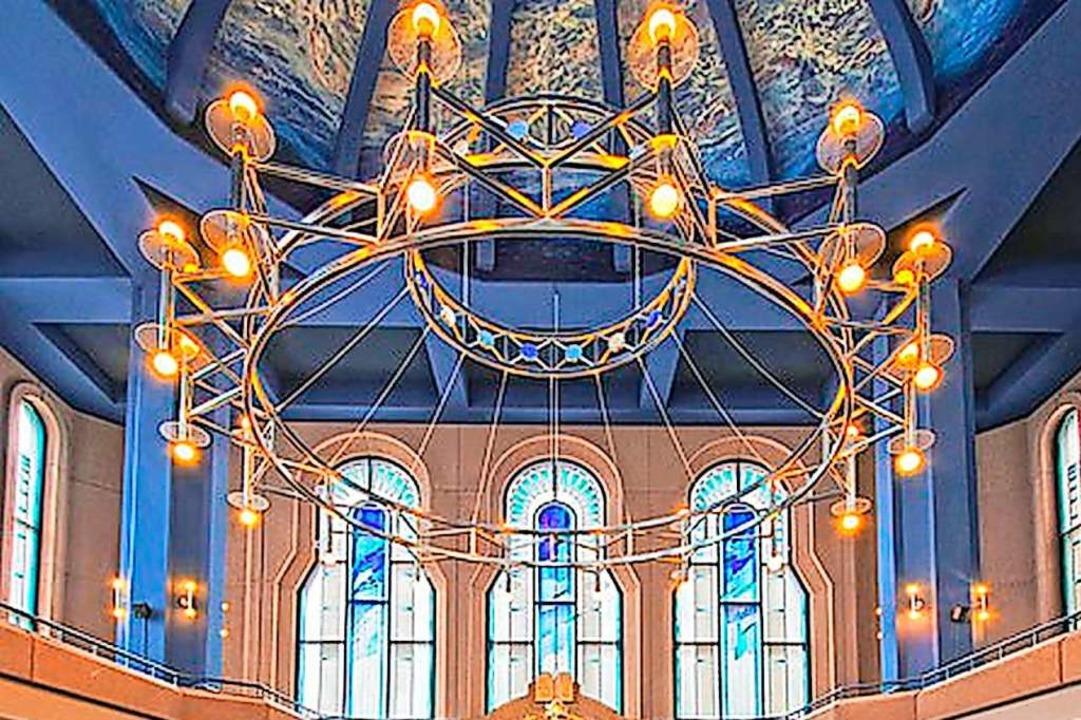 Zentrum des Glaubens: die Synagoge Mannheim  | Foto: Jüdische Gemeinde Mannheim