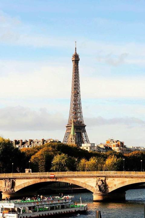 Romantisches Wahrzeichen: der Eiffelturm  | Foto: Jocelyne Genri (Paris Tourist Office)