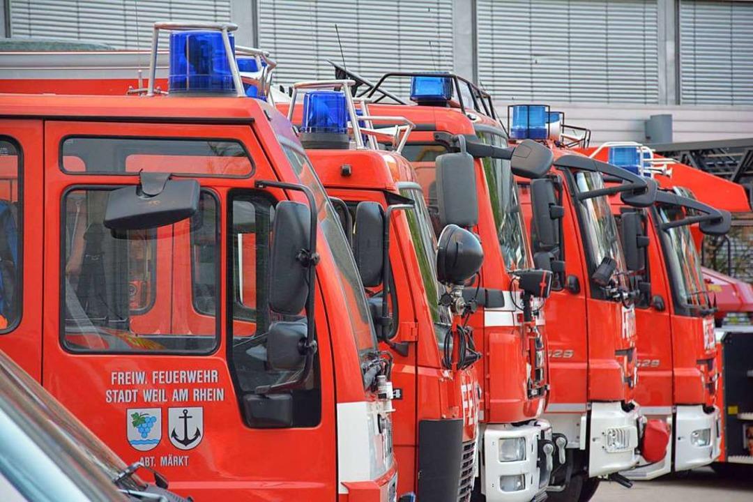 Viele Feuerwehren mussten heute Nacht ausrücken (Symbolbild) Feuerwehren  | Foto: Hannes Lauber