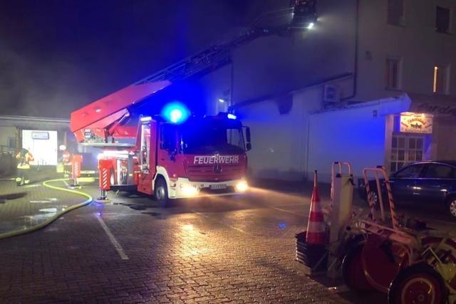Hotel in Weil am Rhein wegen Brand in Nachbargebäude teilweise geräumt
