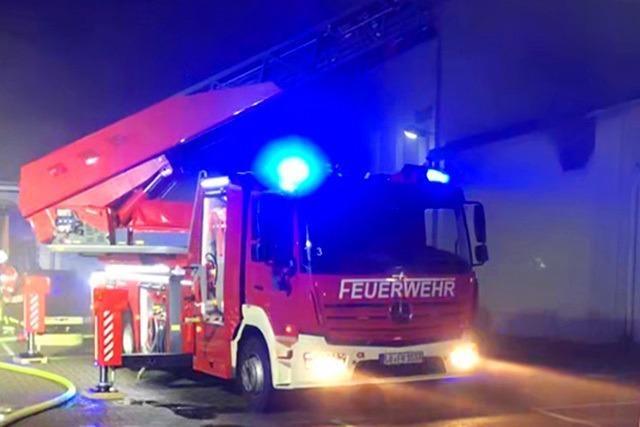 Hotel wegen Brand in Nachbargebäude teilweise geräumt