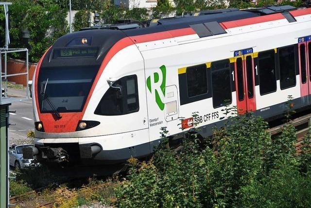Auf der Regio-S-Bahn kam es zu Verspätungen aufgrund der Umleitung
