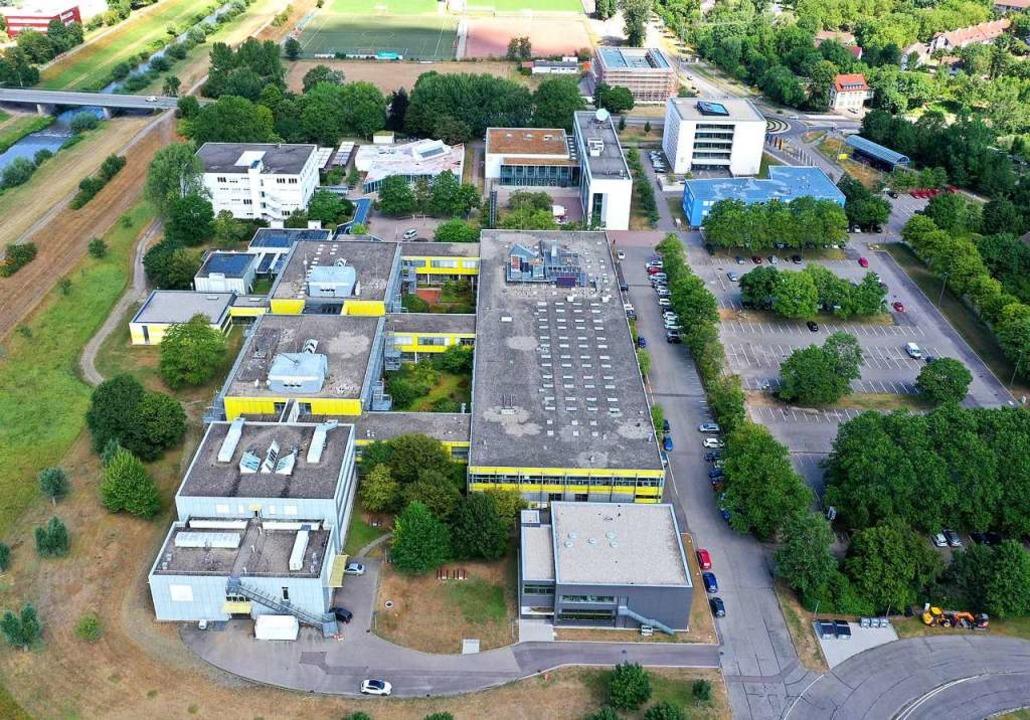 Auf Wachstumskurs: Der Campus der Hoch...nburg, an der 4112 Menschen studieren.  | Foto: Peter Heck
