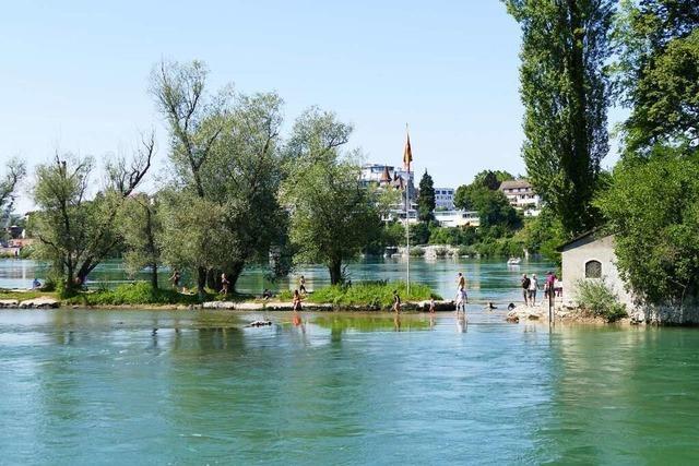 Am Wasser lässt sich's im Landkreis Lörrach prima entspannen