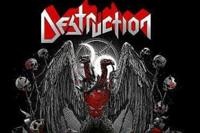 Die Weiler Metal-Legende Destruction steht immer noch unter Dampf