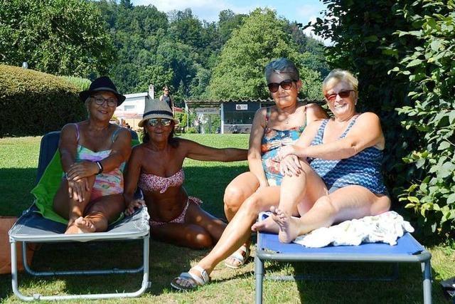 Das Rheinschwimmbad in Schwörstadt leidet unter der Diskussion um den Zaun
