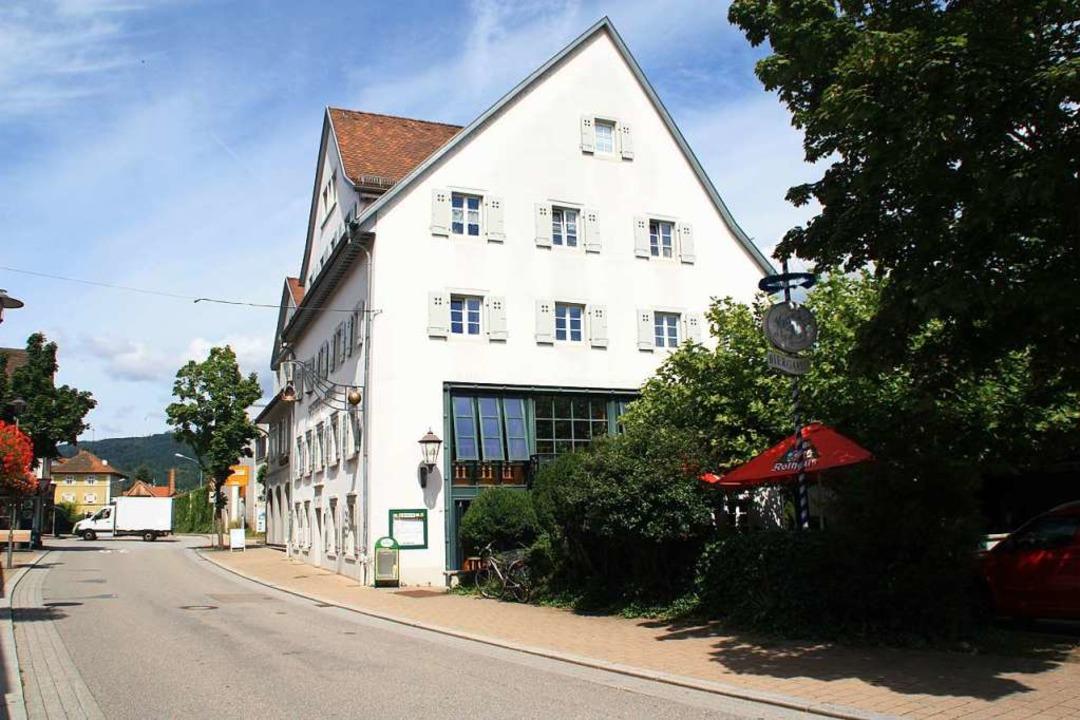 Im kommenden Jahr soll das Gasthaus Kr...n einem neuen Pächter geführt werden.   | Foto: Gerd Leutenecker