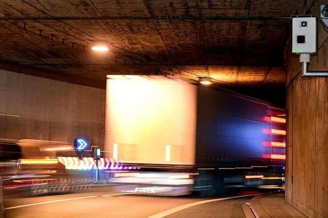 Der Freiburger Stadttunnel war immer auch ein politisch umstrittenes Mammutprojekt