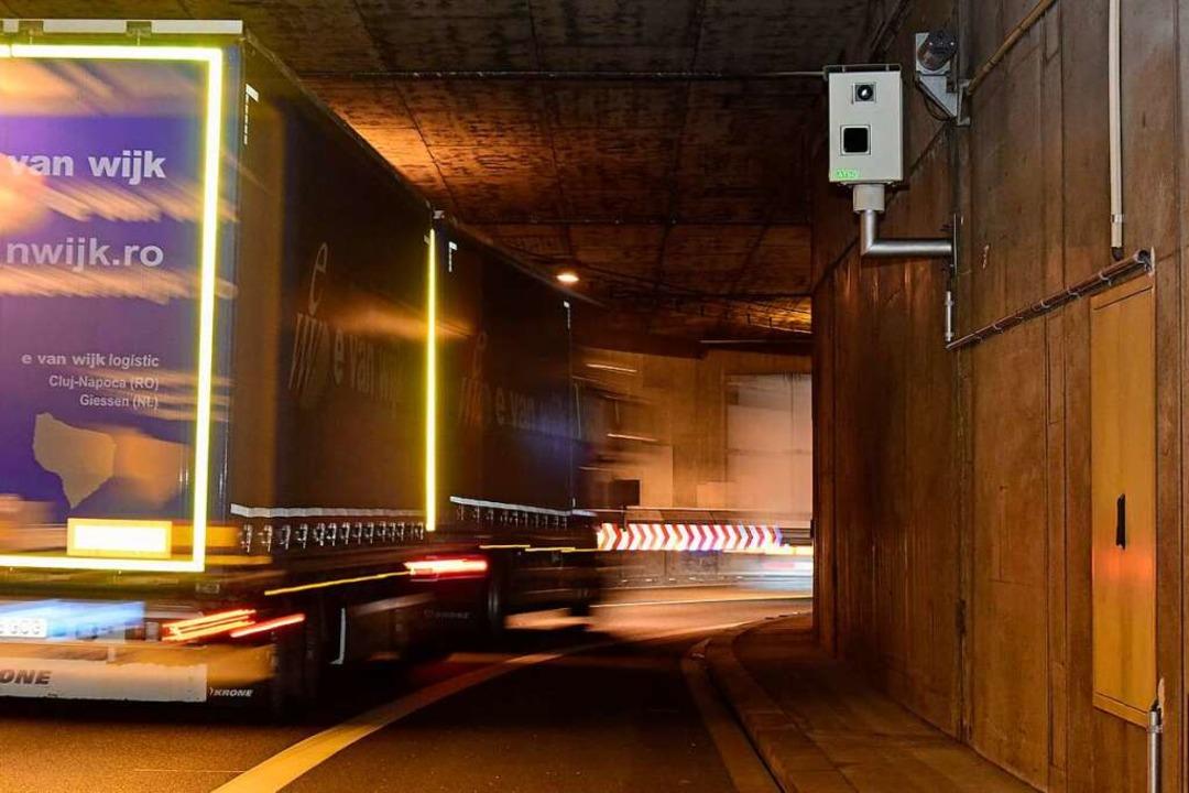 Der geplante Stadttunnel soll einmal v...den Schützenalleetunnel (Bild) führen.  | Foto: Thomas Kunz