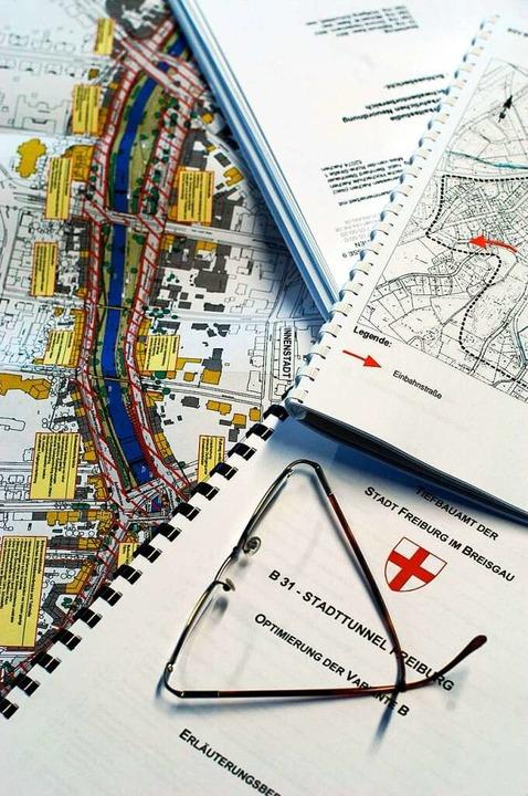 Seit Jahrzehnten arbeiten Planer und Politik am Stadttunnel.  | Foto: Ingo Schneider
