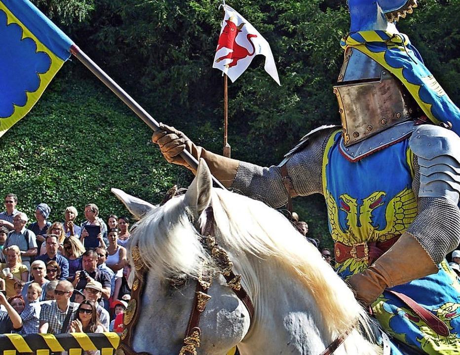Auch Turnierritter kommen zum Mittelaltermarkt Ende August nach Löffingen.   | Foto: Veranstalter