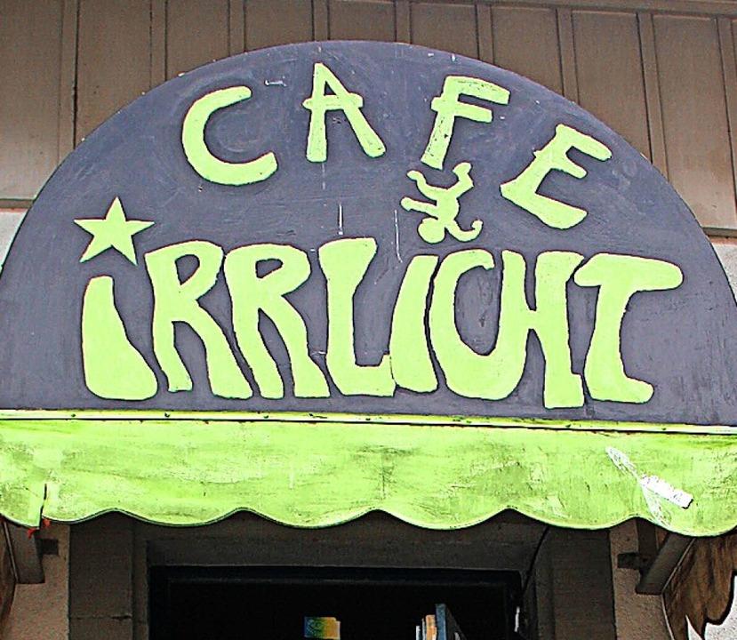 Feiert  sein 35-jähriges Bestehen: das Café Irrlicht.   | Foto: Monika Weber
