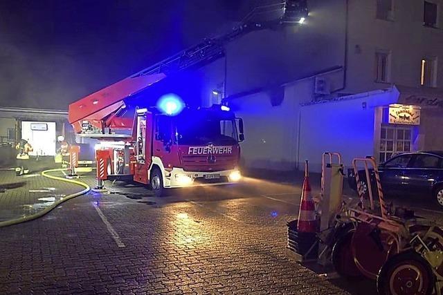 Brand im Tanzlokal – Hotel wurde vorübergehend evakuiert