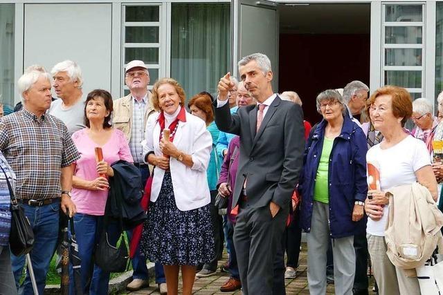 Lörracher Senioren machten sich auf eine Tour in die Zukunft der Stadt