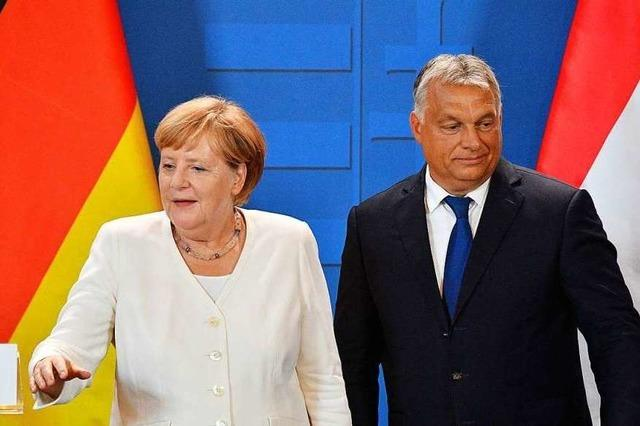 Das Treffen von Merkel und Orban ist der Anfang eines Neuanfangs
