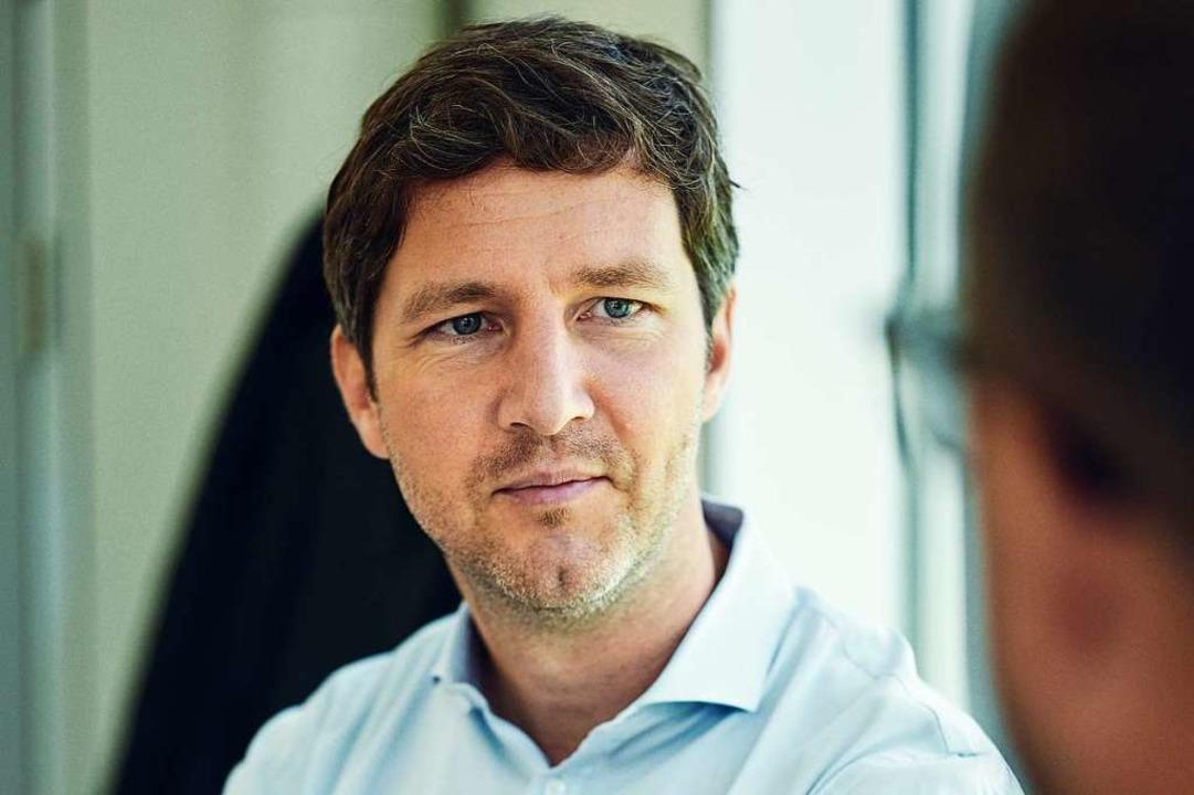 Ein überaus sachlicher Gesprächspartner: Jochen Saier.  | Foto: Felix Groteloh