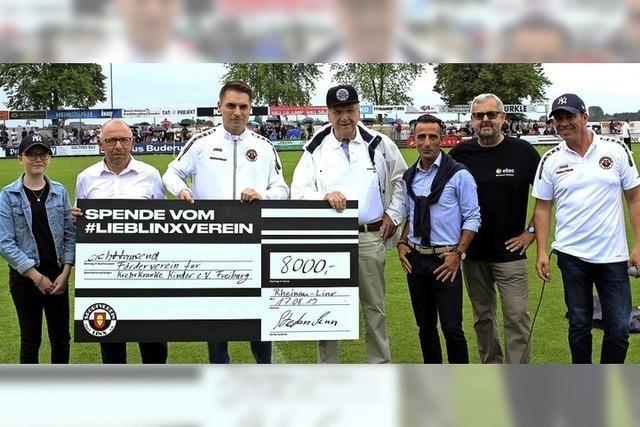 SV Linx spendet 8000 Euro